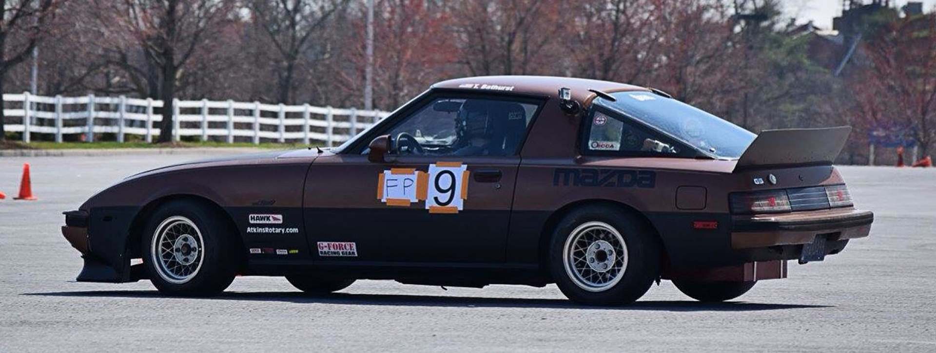 <p>Name: Taylor Bathurst From: Abbottstown, PA Runs: Autocross, Hillclimb Drives: 1985 Mazda Rx7 in F Prepared for autocross and EP for Hillclimbs Member since: 2012 My first car was a Mazda Rx8 that I got into autocross with. Found the Rx7 in a field and bought for 400 dollars. Originally was an automatic [&hellip;]</p>