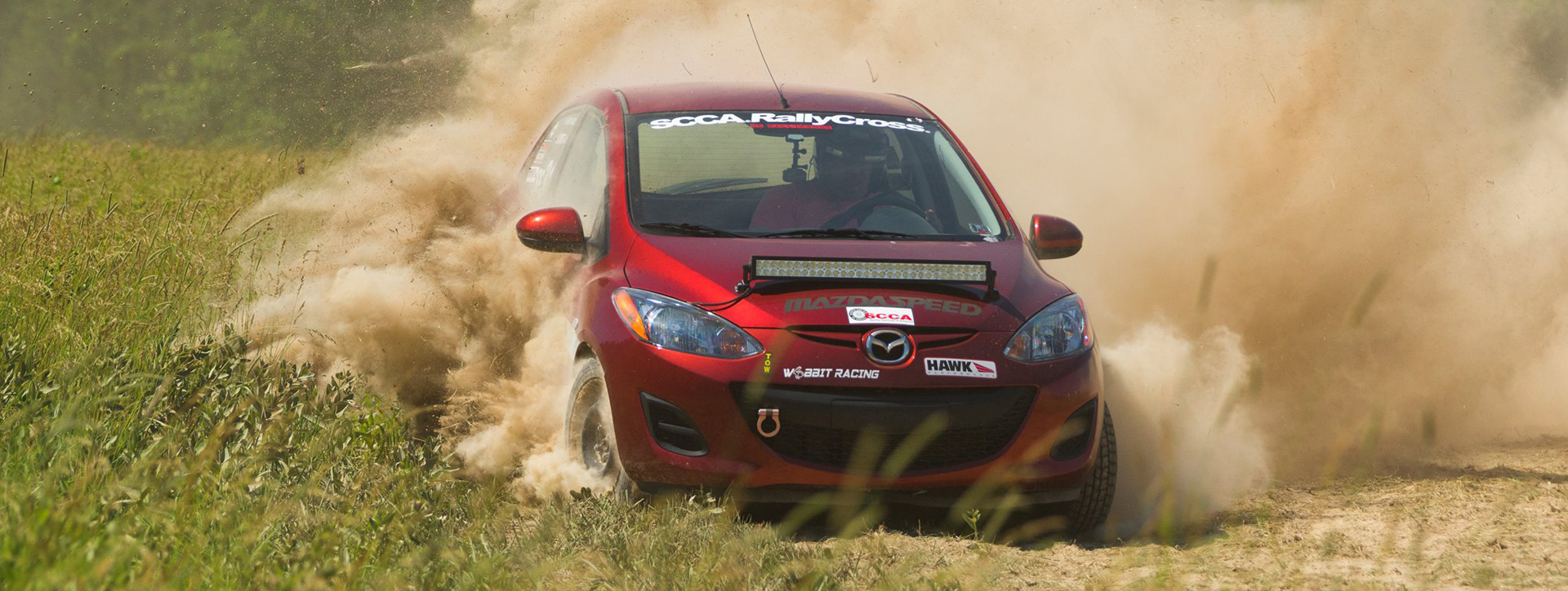 <p>Name: Stephen Hyatt From: Chambersburg, PA Runs: Rally Cross and Road Racing Drives: 2014 Mazda 2 in the SF class Member Since: 1972 Stephen Hayatt has been a long-time member of the SCCA. He has run every kind of race we have put on. These days he can be found running [&hellip;]</p>