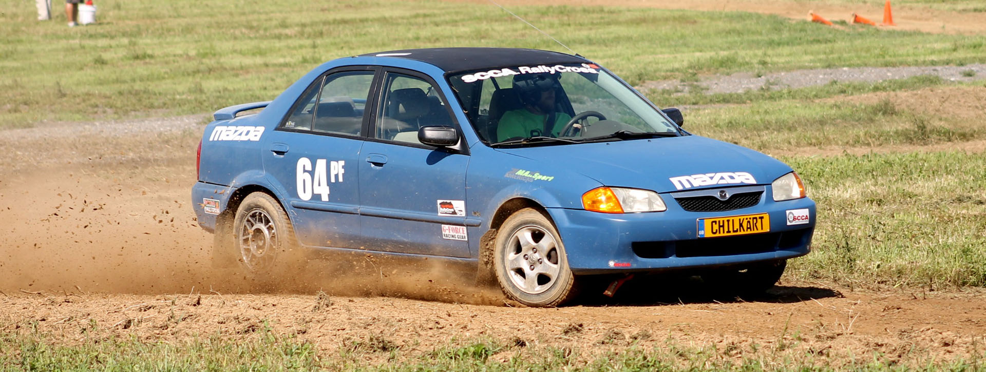 <p>Name: Mike Chilcote From: Gettysburg, PA Runs: RallyCross Drives: 2000 Mazda Protege in PF (Prepared Front Wheel Drive) MemberSince: 2016 &nbsp; When not working you would normally find Mike spending quality time with his wife or actively engaged in his favorite hobbies, mountain biking and homebrewing. Whilst all those things [&hellip;]</p>